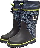 【防寒長靴】WILDTREE ワイルドツリー キッズ&ジュニア防寒長靴 AK152 ネイビー 19.0cm