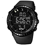 Mens Digital Cool Military Watches Waterproof LED Light Fasion Sports Wrist Watches