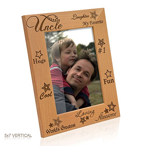 Kate Posh - My Awesome, Cool, Favorite, #1 Uncle Picture Frame (5x7-Vertical) (Uncle Picture Frame compare prices)