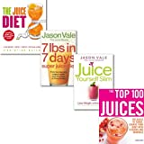 Sarah Owen Juice Diet Collection 4 Books Set, (The Juice Diet - The Healthy Way to Lose Weight, The Juice Master Juice Yourself Slim: The Healthy Way to Lose Weight Without Dieting, 7lbs in 7 Days Super Juice Diet & The Top 100 Juices)