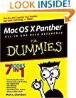 Mac OS X Panther All-in-One Desk Reference for Dummies (For Dummies (Computer/Tech))