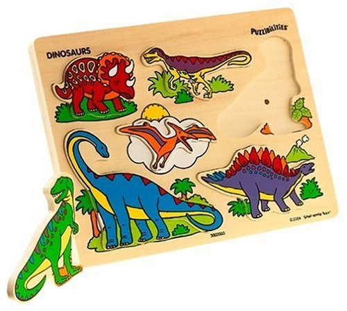 Puzzibilities Wooden Sound Dinosaurs Puzzle - Buy Puzzibilities Wooden Sound Dinosaurs Puzzle - Purchase Puzzibilities Wooden Sound Dinosaurs Puzzle (Small World Toys, Toys & Games,Categories,Preschool,Pre-Kindergarten Toys)