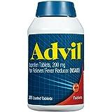 Advil Ibuprofen Tablets, 200 mg, 300 Coated Tablets