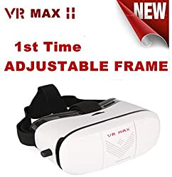 MobiDoc VR MAX Latest 2016 (3rd Gen) Virtual Reality 3D Google CardBoard Mobile Phone Glasses.
