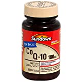 Sundown Co Q-10, 100 mg, 36 Softgels (Pack of 2)