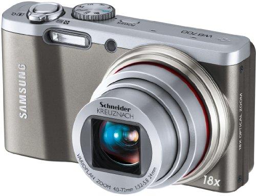 Samsung WB 700 Digital Camera silver, EC-WB700ZBPSE3
