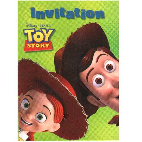 Toy Story 3 Party Invitations [8 per pack] - 1