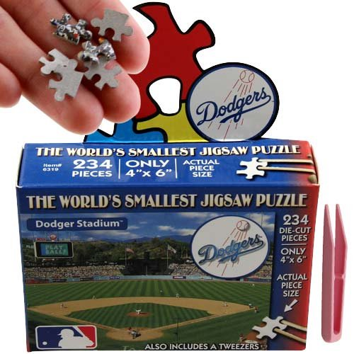 MLB Los Angeles Dodgers World's Smallest Puzzle