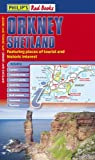 Philip's Red Books Orkney and Shetland: Leisure and Tourist Map