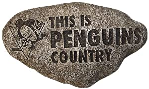 Buy Team Sports America Pittsburgh Penguins Country Stone by Team Sports America