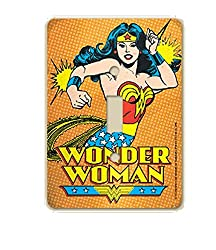 DC Comics Wonder Woman Wall Light Switch Cover