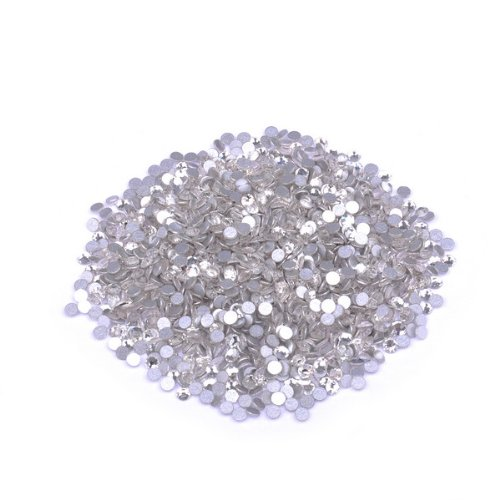 Package Contents: 1440 Pieces Silvery Middle Diamond