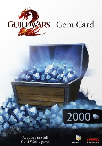 gadget geek - carte gem 2000 guild wars pour