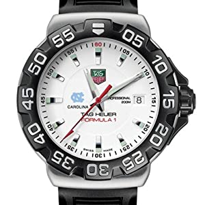 UNC TAG Heuer Watch - Mens Formula 1 Watch with Rubber Strap at M.LaHart by TAG Heuer