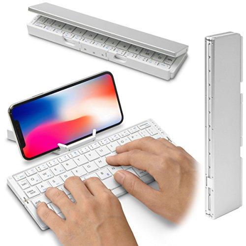 「Bookey Stick」スティック型に折り畳める小型軽量Bluetoothキーボード