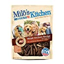 Milo's Kitchen Steak Grillers Beef Recipe with Angus Steak Dog Treats, 18-Ounce