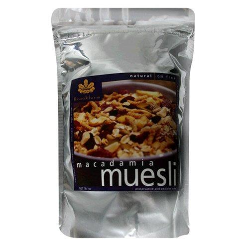 Buy Brookfarm  Natural Macadamia Muesli, 17.1 Ounce Bags (Pack of 2) (Brookfarm, Health & Personal Care, Products, Food & Snacks, Breakfast Foods, Cereals)