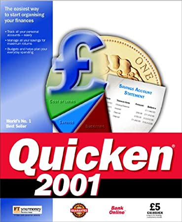 Quicken 2001 Standard
