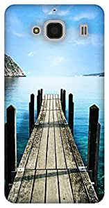 The Racoon Grip Sea hard plastic printed back case / cover for Xiaomi Redmi 2 Prime