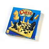 Traditional Chess with Wooden Board & Piecesby Paul Lamond Games