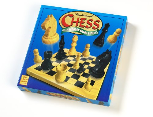 Traditional Chess with Wooden Board & Pieces