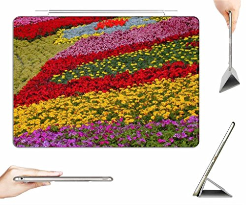 irocket-ipad-2-3-4-case-transparent-back-cover-rainbow-flowers-at-epcot-flower-garden-auto-wake-slee