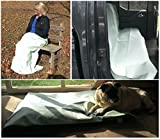 InsectGuard Insect Repellent Treated 80 Inch Long by 60 Inch Wide Blanket/Cover (Light Green)