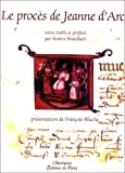 Le procès de Jeanne d'Arc