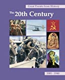 Great Events from History: The 20th Century (Great Events from History) 6 Volume Set