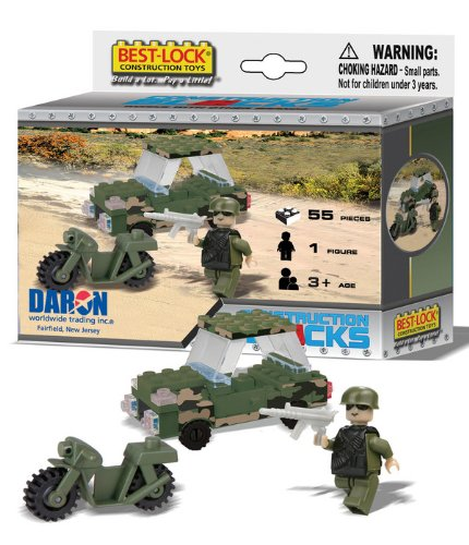 Best Lock BL70055 Military 55 Piece Construction Set
