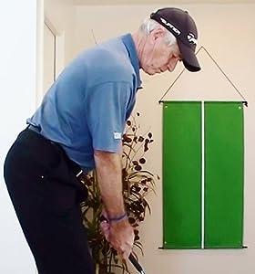 Velcro Golf Practice Target with Velcro Balls - Slingergolf Golf Swing Training Tools by SlingerGolf