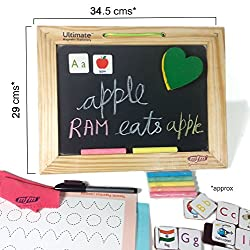 Mfm Toys Ultimate Bothside Magnetic Laptop Board Kids Writing Slate