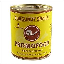 Extra Large French Burgundy Snails - 6 Dozen - 28oz