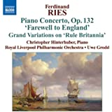 """Ferdinand Ries : Concerto pour piano Op.132 - Grand Variations on """"Rule Britannia"""""""