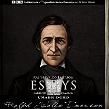 Essays Audiobook by Ralph Waldo Emerson Narrated by Alastair Cameron