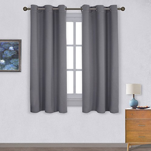 panels insulated grommet blackout curtains for bedroom 2 w42 x ebay