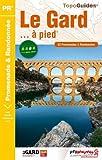 echange, troc FFRP - Le Gard... à pied : 53 promenades & randonnées