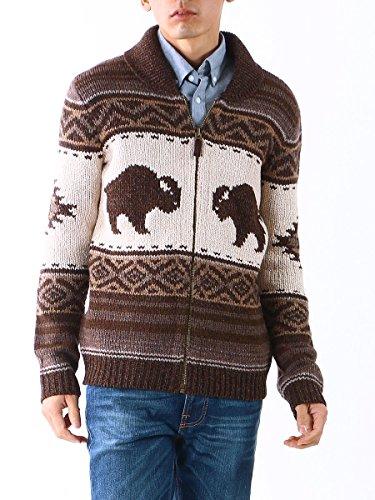 (ポロラルフローレン) POLO RALPH LAUREN カウチン ジップ セーター (ボーイズサイズ) メンズ セーター ニット カウチン ブランド 567645 アイボリー / LL(ボーイズサイズ)