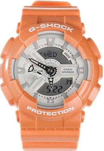 Casio G-Shock Orange Watch GA110SG-4A (Gshock Lap Timer compare prices)
