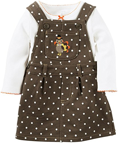 Carter's Baby Girls 2 Pc Sets, Ivory, 18 Months