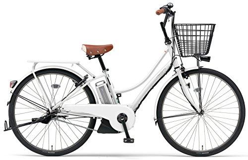 YAMAHA(ヤマハ) PAS ナチュラ Ami 電動自転車 26インチ 2016年モデル [小型・軽量ドライブユニット、8.7Ahリチウムイオン電池、トリプルセンサーシステム] スノーホワイト PA26A