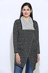 American Eye Women's Coat 1622-101 BLACK