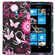 MOD NOKIA 800 LUMIA LUXURY SOFT SILICONE SILICON GEL CASE COVER POUCH STYLISH PRINTED SKIN + FREE SCREEN PROTECTOR
