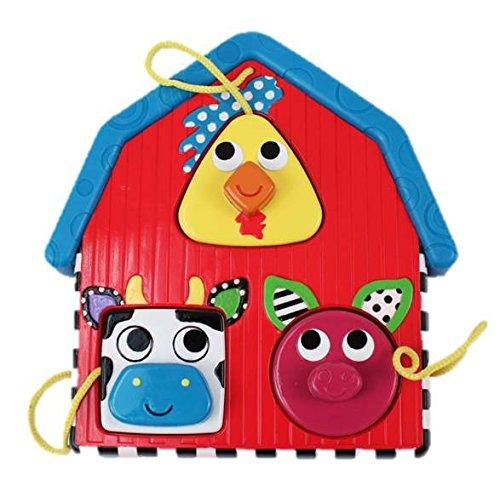 Sassy Electronic Farm Puzzle Toy