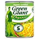Green Giant Organic Sweetcorn 6x198g