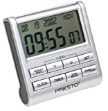 Presto 04212 4-in-1 Clock/Timer