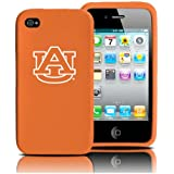 Auburn Tigers iPhone 4 and 4S Case: Silicone Cover