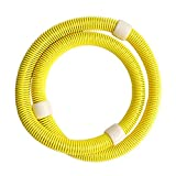 Tri-polar-Soft-Frhling-in-Yoga-Hula-Hoop-Hula-Hoop-abnehmen-dnnen-Taille-Fitnessgerte-gelb
