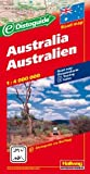Hallwag Straßenkarten, Australien (Hallwag Strassenkarten)