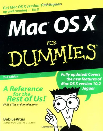 Mac OS X for Dummies, Second Edition